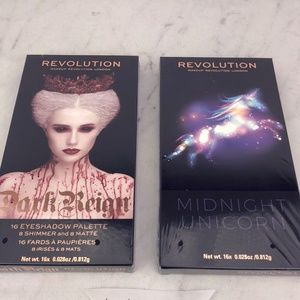 2 Makeup Revolution Eye Shadow Palettes